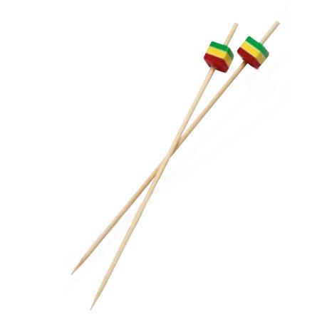 Comprar Brocheta Bambú Cubo (200 y 2000 ud)