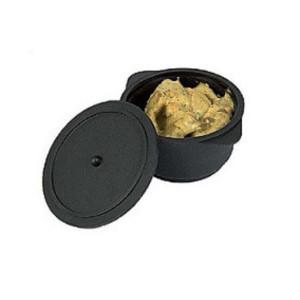 Cazuela Negra con Tapa para Microondas (20 ud.)
