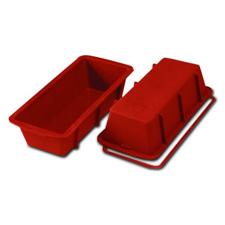 Comprar Molde para Plum Cake de Silicona Rectangular