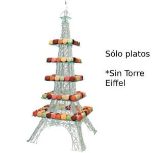 Serie de 5 Bandejas para Expositor Torre Eiffel GM