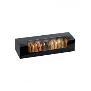 Comprar Caja para Macarons o Galletas con ventana (50 ud)