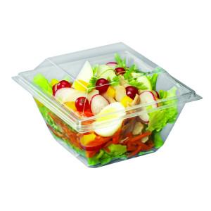 Comprar Envase cuadrado con fondo y cubierta transparente (30 ud).