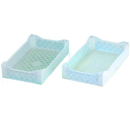 Comprar Caja Perforada Plástica Apilable Cagiplast PM