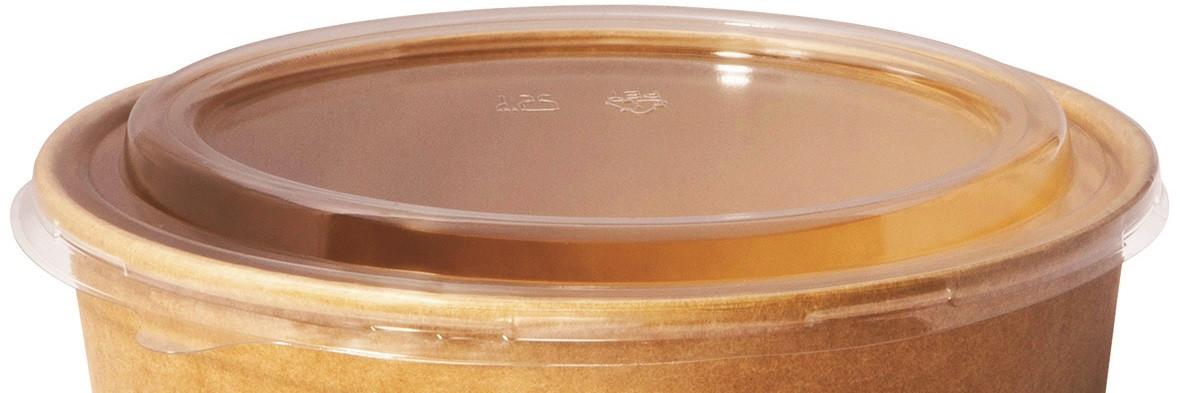 Venta de Tapadera de plástico para bol de ensaladas de cartón