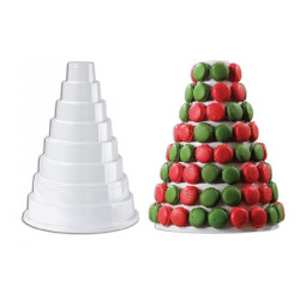 Pirámide Expositora para Macarons