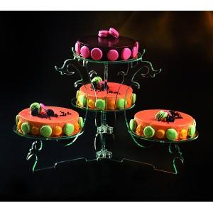 Comprar Expositor para Tartas de Cristal 4 Pisos