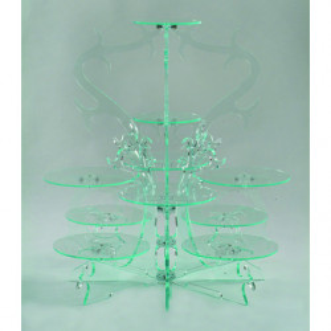 Comprar Expositor de Cristal de 10 Pisos