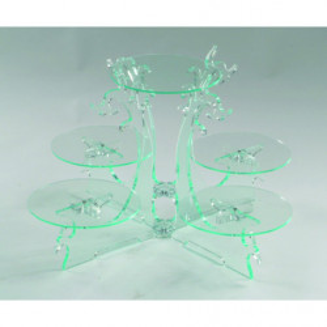Comprar Expositor de 5 Pisos de Cristal
