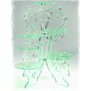 Comprar Expositor de Cristal de 7 Pisos