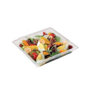 Envase de plástico con fondo y cubierta de cristal (30 ud)