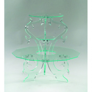 Comprar Expositor de Cristal de 3 Pisos