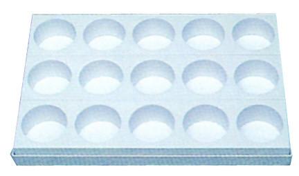 Venta de MOLDE BANDEJA PLÁSTICA 26 X 40 cm - 15 PASTELES