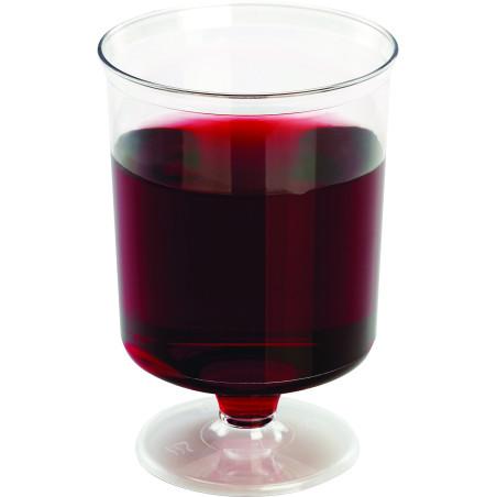 Comprar Copa de plástico para vino con pie