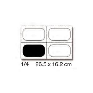 CUBETA GN INOX 1/4 SIN TAPA SIN ASA