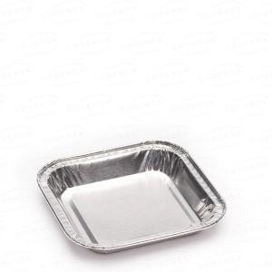 Comprar Envase de aluminio cuadrado para pastelería