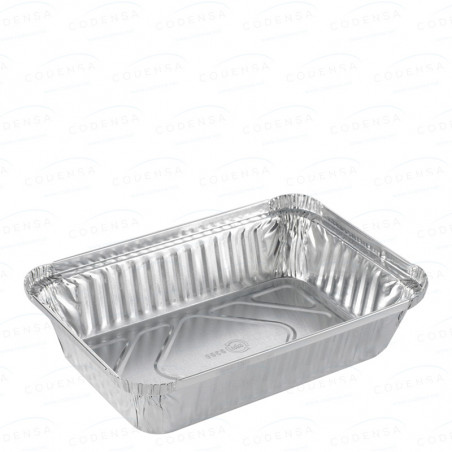 """Comprar Envase aluminio rectangular """"rizo"""""""