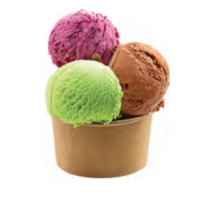 Tarrinas Kraft para helados