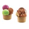 Tapa kraft para tarrinas de helado