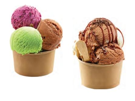 Venta de Tapa kraft para tarrinas de helado