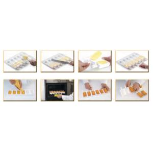 Molde Clásico para helados de Silicona Steccoflex