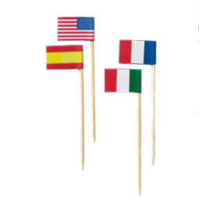 Comprar Brochetas con Banderas