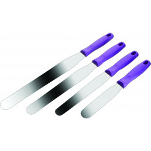 Comprar Espátula en Plástico Púrpura y Acero Inoxidable