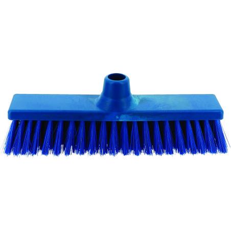 Comprar Escoba recta blanda azul