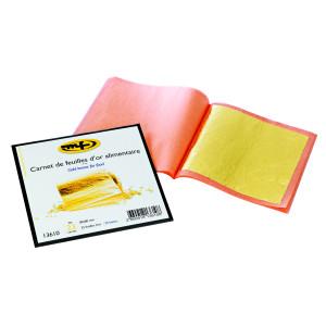 Comprar Cuaderno con 25 Hojas de Oro para Decoración