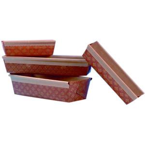 Molde de papel rectangular para brownie (50 ud)