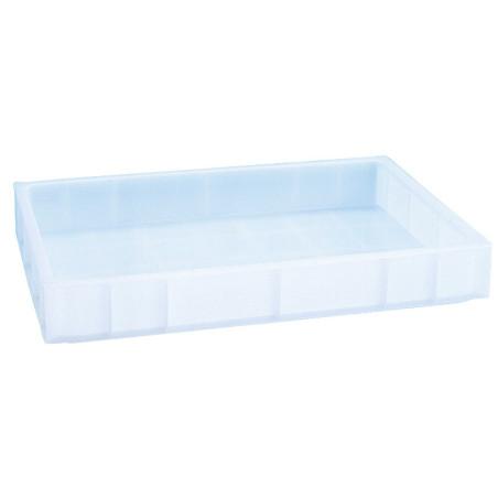 Comprar Bandeja Apilable de Plástico Blanco de 15 l