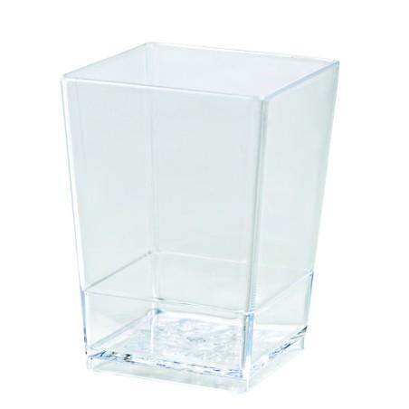 Comprar Vaso Cuadrado Transparente