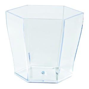 Comprar Vaso Hexagonal Transparente