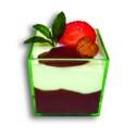 Comprar Mini Cubo Verde Transparente