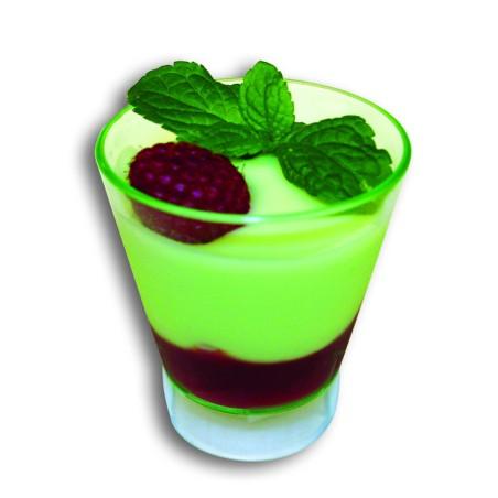 Comprar Mini Copa Verde Transparente