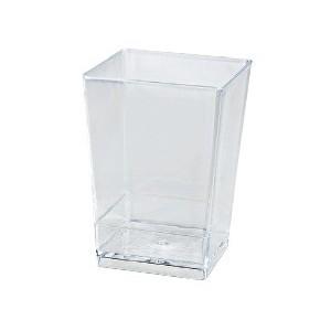 Vaso para Postres Cuadrado 10 cl