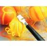 Cuchillo Zesteur Acanalado para Decorar la Fruta
