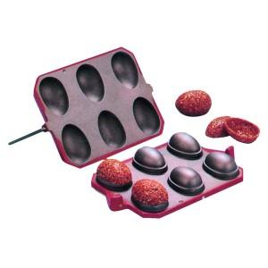 Comprar Molde Cortador para Turrón con Forma de 6 Medio Huevos