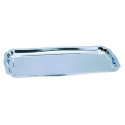 "Comprar Bandeja ""Louis XV"" Rectangular Inoxidable"