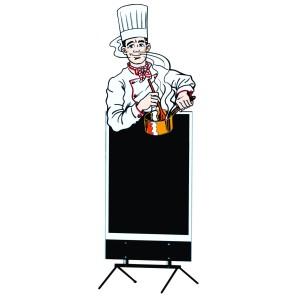 Comprar Figura de Cocinero para Pizarra