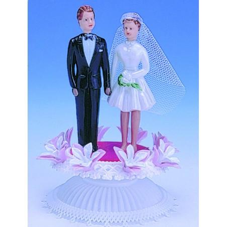 Comprar Para Casamientos en los Juzgados Estilo Véronique con Base de Flores