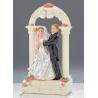 Altar Decorado con los Recién Casados Estilo Nathalie