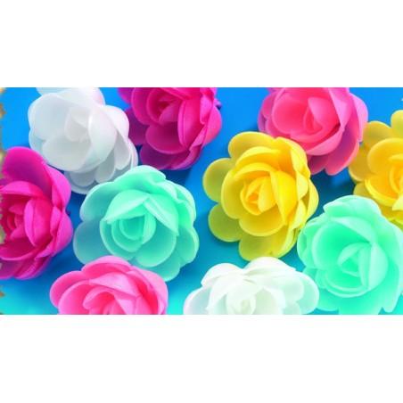 Comprar ROSA GRANDE EN OBLEA SURTIDAS P/36