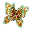 Comprar Mariposa Doble en Oblea Profesional