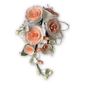 Ramillete de Rosas Color Salmón
