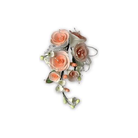 Comprar Ramillete de Rosas Color Salmón