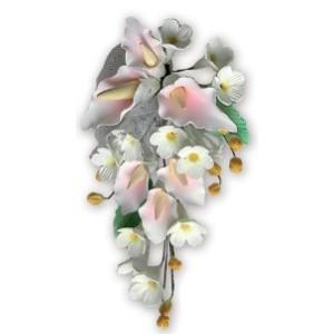 Ramillete Arum de las Islas Color Rosado