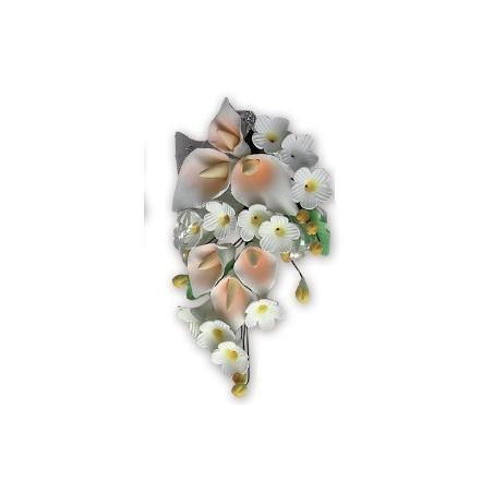 Comprar Ramillete Arum de las Islas Color Salmón