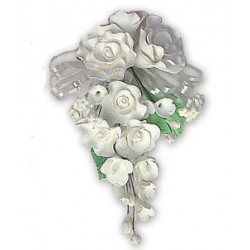 Comprar Ramillete de Rosas Color Blanco