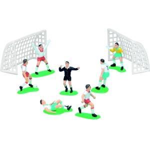 Kit Jugadores de Fútbol para Tartas