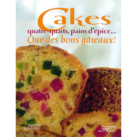 Comprar CAKES, QUATRE QUARTS, PAIN D'EPICE ---